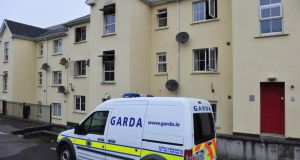 A Garda Scene of fatal fire in Mallow, Co Cork this morningPic Michael Mac Sweeney/Provision