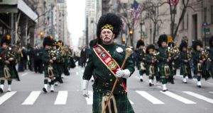 We have the Americans to thank for parades and marching bands according to the US embassy in Dublin. Photograph: Getty