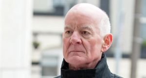 Former financial regulator Patrick Neary is seen arriving at Dublin Circuit Criminal Court today. Photograph: Collins