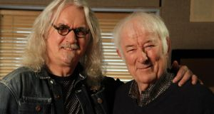 Great characters: Billy Connolly and Seamus Heaney in BBC Two's 'Five Fables: The Two Mice'