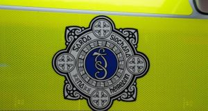 A man in his 30s died in a single car crash after his 4x4 hit a pole in Co Laois this morning.