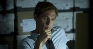 Following a lead: Matthew McConaughey as Rust Cohle. Photograph: HBO
