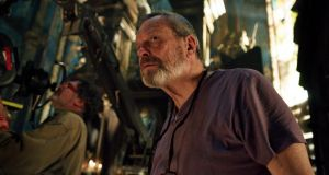 "Terry Gilliam on the set of new film The Zero Theorem: ""I don't hate technology. I just hate the religion around it"""
