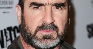 Former Manchester United star Eric Cantona who was arrested and cautioned by the Metropolitan Police in London on Wednesday. Photograph: Ian West/PA Wire