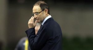 Republic of Ireland manager Martin O'Neill has a job on to arrest Ireland's steady decline. Photograph: Donall Farmer/Inpho