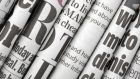 Profits at British newspaper publisher Trinity Mirror edged up by 2.6% per cent at £101.3 million last year.