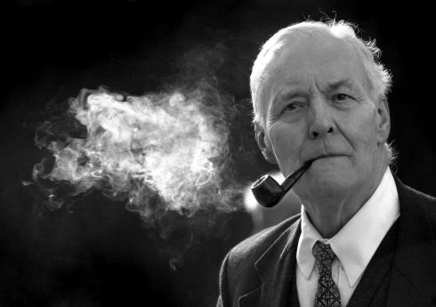 Veteran British Labour party politician Tony Benn died at home today at the age of 88. PhotographL Matthew Fearn/PA Wire