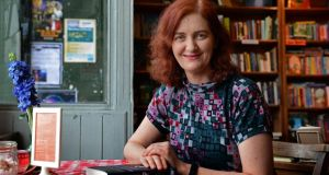 Author Emma Donoghue in Dublin. Photograph: Eric Luke