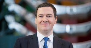 Chancellor of the exchequer George Osborne. photograph: bloomberg