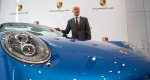 Matthias Mueller, chief executive officer of Porsche