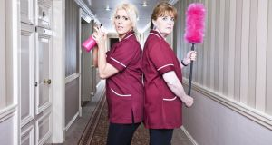 Dirty secrets: Stephanie Kelly and Anne Kent in Cleaners