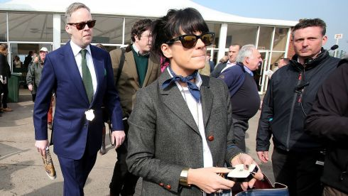 Who would have thought? London lass and songstress Lily Allen likes a day at the races Photograph: Inpho/Dan Sheridan