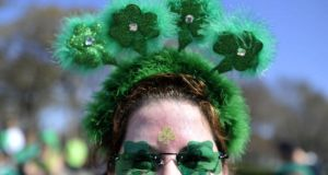 'The American St Patrick's Day parade – and all associated celebrations – offered a template for the sort of identity-soaked festivities that have come to occupy so much of our calendar.' Photograph:  Brian Kersey/Getty Images