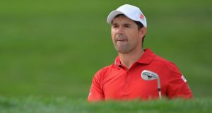 Pádraig Harrington still in contention in florida. Photograph: Getty Images