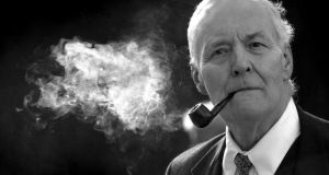 Photograph of Tony Benn taken in 2003. The veteran politician died at home on Friday March 14th, 2014, at the age of 88. Photograph: Matthew Fearn/PA Wire