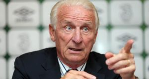 Giovanni Trapattoni: 75 today, St Patrick's Day. Photograph: Donall Farmer/Inpho