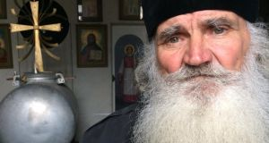 "Fr Mykola at Simferopol's Ukrainian Orthodox Church of Saints Volodymyr and Olha: ""This is Ukraine'"