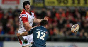 Stephen Ferris returned  to action for Ulster last Friday night at Ravenhill