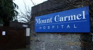 Mount Carmel Hospital, Dublin. Photograph: Aidan Crawley