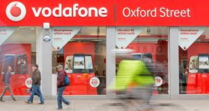 Vodafone: trades in sterling on the London Stock Exchange and on the Nasdaq exchange in the United States in dollars