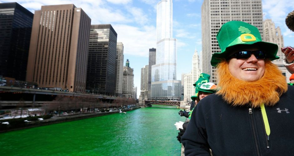 St Patrick's Day abroad