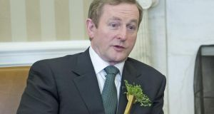 """My message to you is that if you want to do business in or with Ireland, as Taoiseach my door is always open to you,"" Enda Kenny told the the US Chamber of Commerce. Photograph: Ron Sachs-Pool/Getty Images"