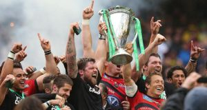 Toulon's Jonny Wilkinson lifts the 2013 Heineken Cup trophy at the Aviva Stadium. The competition is now set to be replaced by a new European Cup.