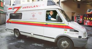 Dublin's emergency ambulances are provided mainly by DFB while outside the capital ambulances are provided by the HSE.  Photograph Paddy Whelan