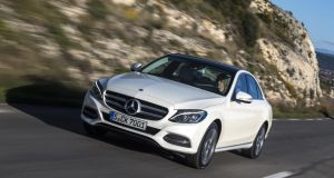The Mercedes-Benz C-Class arrives in Ireland at the end of May, with prices likely to start at €40,500