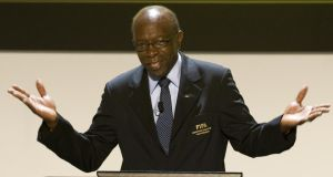 Former Fifa vice-president   Jack Warner. Photograph: Luis Acosta/AFP/Getty Images