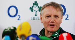 Ireland's championship winning coach  Joe Schmidt.