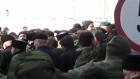 Crimea's self-defence forces have stormed the Ukrainian navy base in the Black Sea port of Sevastopol a day after Russia signed a treaty with local authorities to annex the region. Video: Reuters
