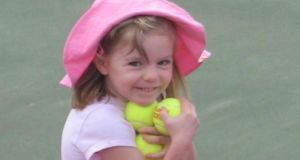 Madeleine McCann disappeared in 2007. Photograph: PA