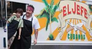 "SXSW Film: Emjay Anthony and Jon Favreau  in  ""Chef"""