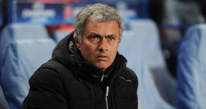 Chelsea manager José Mourinho says his side is among the top eight in the world.   Photograph: Adam Davy/PA Wire