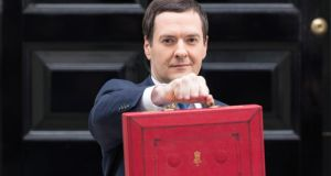 British chancellor of the exchequer George Osborne stunned the pensions industry by announcing plans to give people far more freedom to choose what they do with their pension pot. Photograph: Bloomberg