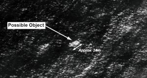 Satellite imagery provided to THE Australian Maritime Safety Authority (AMSA) of objects that may be possible debris of the missing Malaysia Airlines Flight MH370.