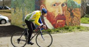Cycle the Van Gogh route in the Netherlands. Photograph: Michel Porro/Getty Images