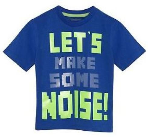 Bluezoo Make Some Noise! T-shirt