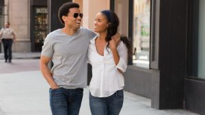 Blah – and loving it: Michael Ealy and Joy Bryant