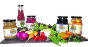 Pickled baby vegetables, relishes and chutneys made by Margaret and Brendan Guinan