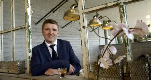 Simon Pratt, managing director of Avoca, at one of the company's 12 cafes in Rathcoole, Co Dublin. Photograph: Brenda Fitzsimons