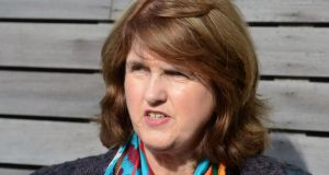 Minister for Social Protection Joan Burton: Pushed the Labour proposal for an independent Garda authority to oversee the force. Photograph: Cyril Byrne