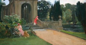 'The Palladian Bridge, Wilton' by Sr John Lavery, €50,000-€70,000 at de Veres