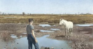 'The White Mare' by Patrick Hennessy (€4,000-€6,000) at Adam's