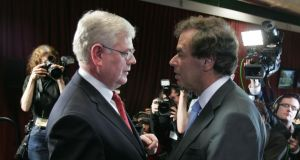 Tánaiste Eamon Gilmore and Minister for Justice Alan Shatter. File photograph: Alan Betson/The Irish Times