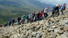 The Croagh Patrick Heritage Trail Walking Festival takes place in Mayo this weekend. Photograph: Eric Luke / THE IRISH TIMES