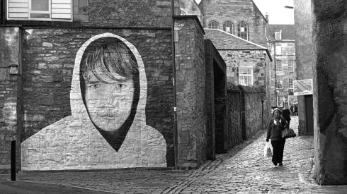 Robertson's Close, Edinburgh 2012. Photograph: Joe Caslin