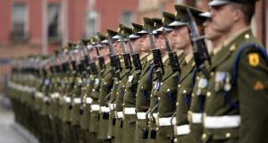 'The number of personnel in the Defence Forces is at its lowest in 40 years. It should not be allowed to fall further.' Photograph: Alan Betson