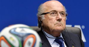 Sepp Blatter has been president of Fifa since 1998.